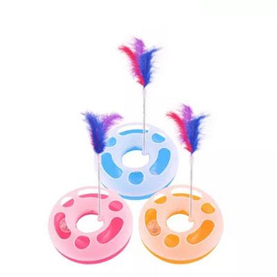 اسباب بازی آموزشی چرخش مسیر گربه Cat Track Spinning Educational Toy 2