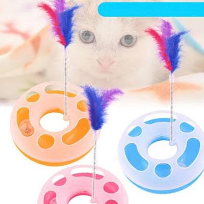 اسباب بازی آموزشی چرخش مسیر گربه