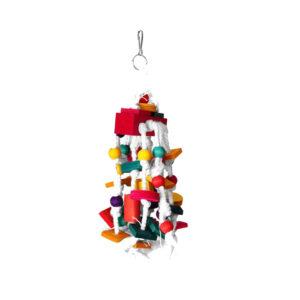اسباب بازی پرندگان مدل رنگین کمان
