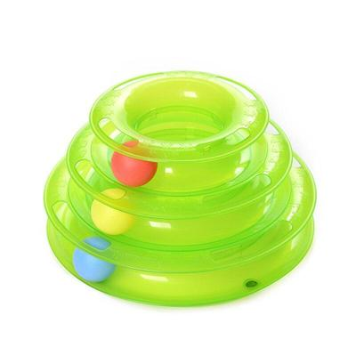 اسباب بازی چرخشی گربه توپی