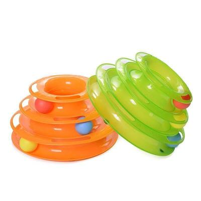 اسباب بازی چرخشی گربه توپی Ball Spinning Cat Toy 2