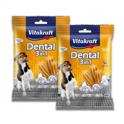استیک تشویقی دنتال 3 در 1 سگ برند ویتاکرافت vitakraft dentaire 3 in 1 stick dog