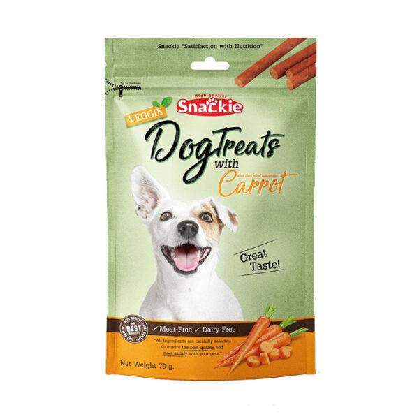 تشویقی سگ با طعم گوشت و هویج برند اسنکی