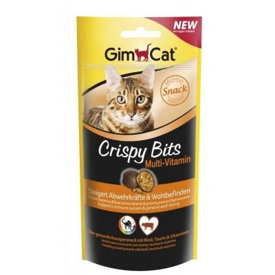 گربه مولتی ویتامین کریسپی بیتس برند جیم کت gimcat crispy bits multi vitamin