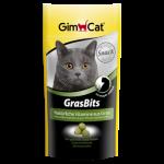 تشویقی گربه گرس بیتس حاوی ویتامین برند جیم کت