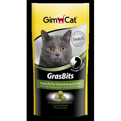 گربه گرس بیتس حاوی ویتامین های طبیعی از چمن برند جیم کت gimcat natürliche vitamine aus gras