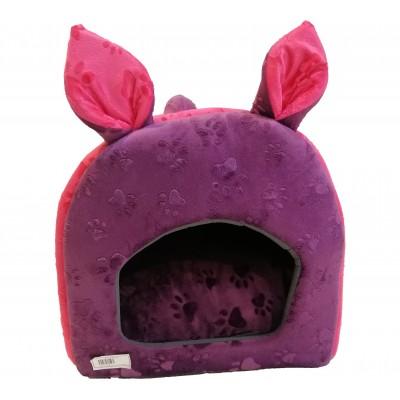 جای خواب عروسکی سه کاره سرخابی و بنفش برند الوین alvin three function rouged and purple doll sleeping place