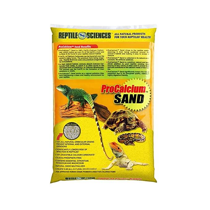 خاک بستر ایگوانا غنی شده با پتاسیم Procalsium Sand