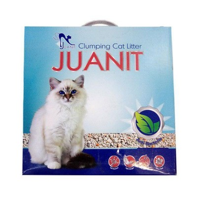 خاک گربه آنتی باکتریال برند ژوانیت Juanit antibacterial cat litter