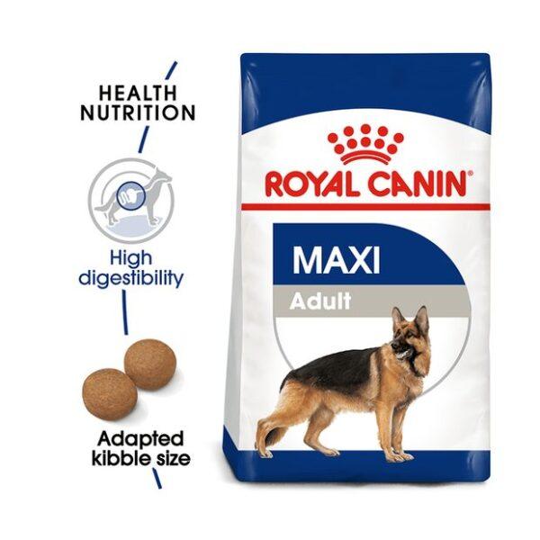 غذای خشک سگ بالغ مدل ماکسی برند رویال کنین