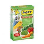 خوراک سبزیجات با پایه غلات مناسب پرندگان برند راف