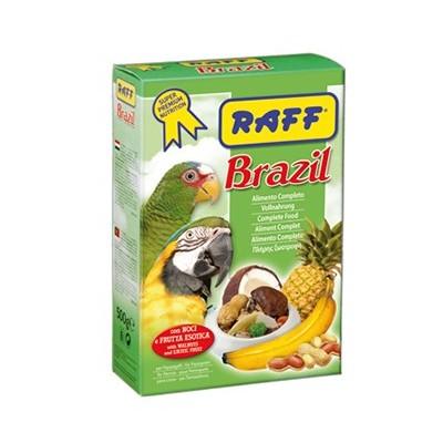 خوراک مخصوص طوطی غنی شده با میوه برند راف