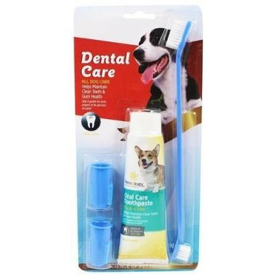 مسواک و خمیر دندان سگ و گربه Dental Care
