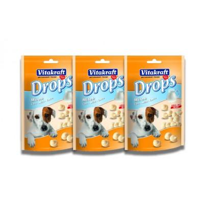 شیری 75 گرمی مخصوص سگ برند ویتاکرافت vitakraft dog milk drops 75g