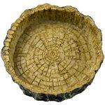 ظرف آب و غذای لاک پُشت مدل چوبی