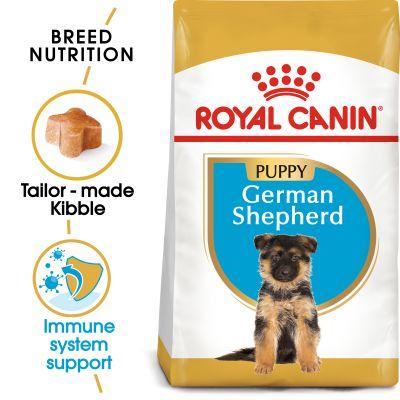 غذای خشک مناسب توله سگ ژرمن شپرد برند رویال کنین