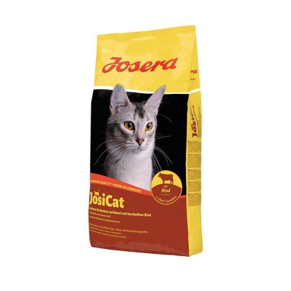 خشک جوسی کت گربه بالغ 4 کیلوگرمی josera josicat cat dry food beef 4 kg