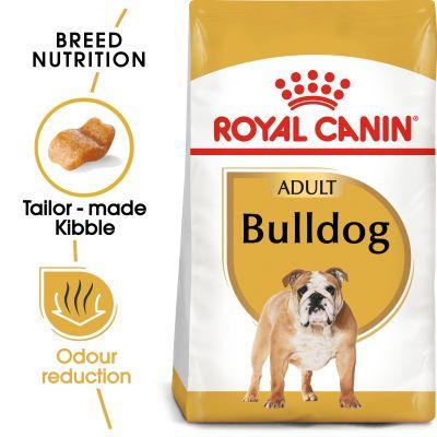 غذای خشک مناسب سگ بالغ نژاد بولداگ برند رویال کنین