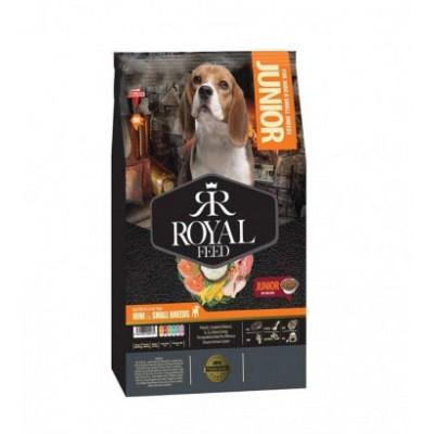 خشک سگ های جوان نژاد کوچک رویال فید royal feed junior dog dry food