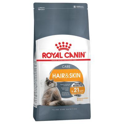 غذای خشک محافظ پوست و موی گربه برند رویال کنین