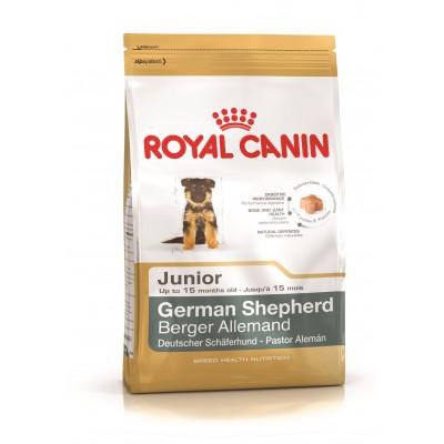 خشک مخصوص سگ جوان ژرمن شپرد برند رویال کنین royal canin german shepherd junior