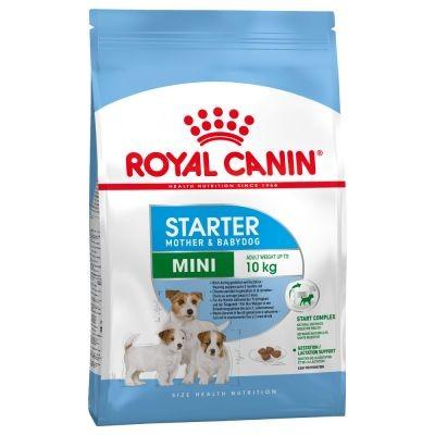 خشک مینی استارتر مادر و توله سگ برند رویال کنین royal canin mine starter mother and baby dog