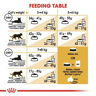 غذای خشک گربه بالغ بریتیش برند رویال کنین 2 کیلویی