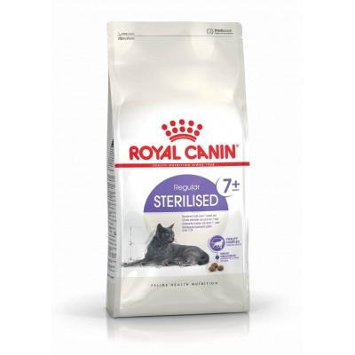 خشک گربه عقیم شده بالای7 سال برند رویال کنین royal canin cat dry food sterilized 7