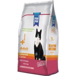 غذای خشک گربه برند پاوپاو