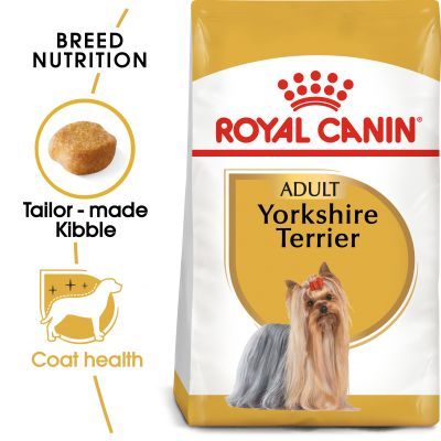 غذای خشک سگ بالغ نژاد یورکشایر تریر برند رویال کنین