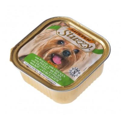 غذای فشرده (ووم) توله سگ با طعم مرغ برند استازی