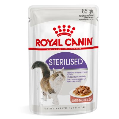 غذای پوچ گربه بالغ عقیم شده