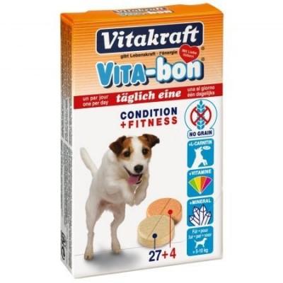 مولتی ویتامین مینرال سگ تا 10 کیلوگرم برند ویتاکرافت vitacraft vita bon