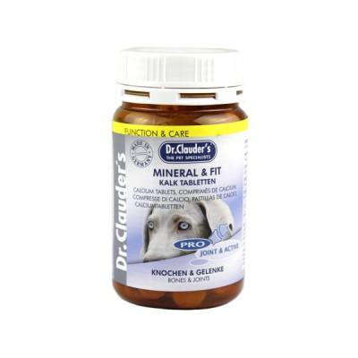قرص کلسیم مینرال مخصوص سگ دکتر کلادرز drclauder s mineral fit calcium tablets dog