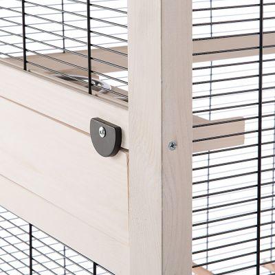 قفس پرندگان کوچک مدل چوبی