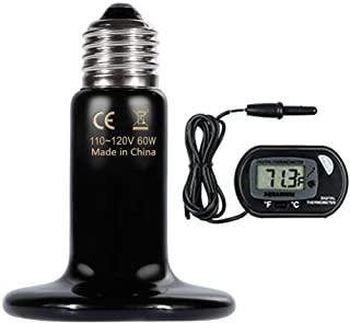 لامپ حرارتی دیجیتالی 60 واتی خزندگان