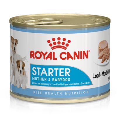 غذای کنسروی مناسب مادر شیرده و توله سگ برند رویال کنین