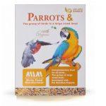 مکمل غذایی طوطی ها و پرندگان بزرگ برند گلدن ایگل