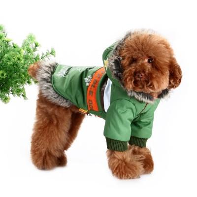 کاپشن زمستانی سگ مدل آلاسکایی سایز بزرگ