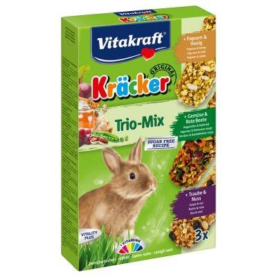کراکر خرگوش با طعم بادام زمینی و عسل برند ویتاکرافت