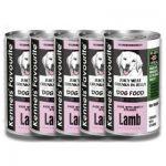 کنسرو سگ حاوی گوشت بره برند کنلز فیوریت 400 گرمی