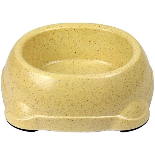 کاسه آب و غذای مناسب نژاد متوسط و کوچک سگ و گربه بامبو