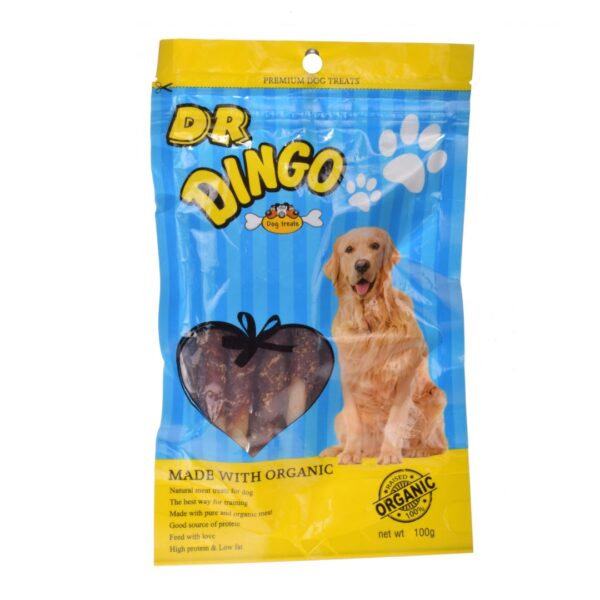 تشویقی ارگانیک ران مرغ مناسب سگ دکتر دینگو
