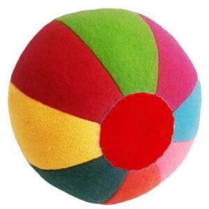 توپ نمدی رنگین کمانی مناسب برای سگ