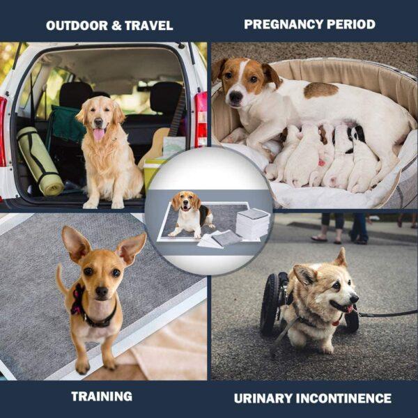 پد آموزش ادرار کربن دار مناسب سگ سایز 60x90 برند دونو