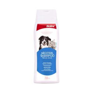 شامپو طبیعی مناسب سگ و گربه برند بیولاین 250 میلی لیتری
