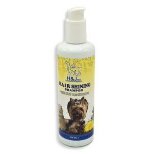 شامپو درخشان کننده و ضدریزش مو مناسب سگ و گربه اچ اند جی