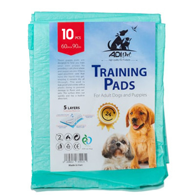 پد بهداشتی مناسب تعلیم دستشویی سگ برند آدی 10 عددی