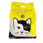 خاک کیسه ای گربه سوپر پریمیوم با عطر لیمو برند ژوانیت 10 کیلوگرمی