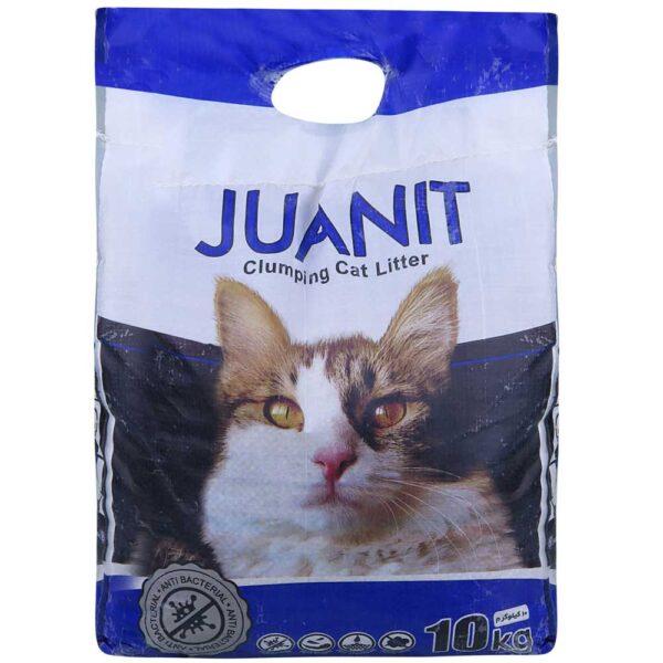 خاک کیسه ای گربه آبی برند ژوانیت 10 کیلوگرمی